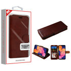 Samsung Galaxy A10E Leather Flip Wallet Fold Card Pouch Phone Case Stand Cover