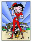 Betty Boop Outisde Bar/Cafe Retro Repro Metal Decor  Sign £5.0 GBP on eBay