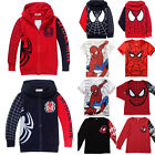 Toddler Kids Boys T Shirt Tops Zip Hooded Hoodie Sweatshirt Jacket Coat Sweater