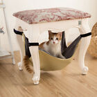 Soft Pet Cat Under Chair Hanging Hammock Kitten Dog Table Leg Cage Bed Cover Mat