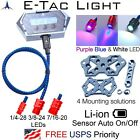 E-Tac Light Compound Bow Sight Light 1/4 3/8 7/16 Rechargeable BT Auto On/OFF