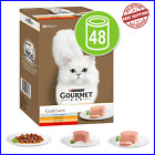 PURINA Gourmet Gold Cans Mixed Saver Pack 48 x 85g - WET PET CAT FOOD