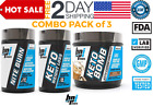 BPI Sports Keto Bomb + Health Keto Weight Loss + Sports Nite Burn COMBO 3 PACK $74.49 USD on eBay