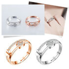 Women Heart Rings Thumb Stack Jewelry Adjustable Love Wedding Party Ring Fashion