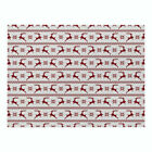 Christmas Print Cotton Linen Placemat Dining Coffee Table Mat Home Kitchen