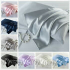 Pure Mulberry Silk anti-age Pillowcase Luxurious 25 Momme 5 colors Queen US image