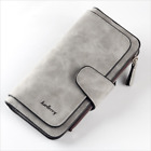 US Women Ladies Long Leather Trifold Card Wallet Clutch Checkbook Purse Handbag