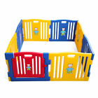 8/10 panel Nursery Fence Adjustable Baby playpens Kids safety Play Center Yards