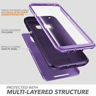 For Samsung Galaxy S8+ Plus, Clayco Hera Case Rugged Cover w/ ScreenProtector US