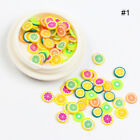 3D Nail Art Soft Polymer Clay 3D Nail Art Soft Polymer Clay Fruit Slices Sticker