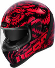 Icon Airform LYCAN Full-Face Helmet (Red) Choose Size
