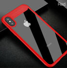 1x Auto Focus Clear Ultra Slim Shockproof TPU PC Full Cover Case For iPhone X XS