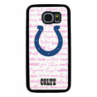 INDIANAPOLIS COLTS PHONE CASE FOR SAMSUNG GALAXY S6 S7 S8 S9 S10E PLUS EDGE NOTE $14.99 USD on eBay