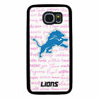 DETROIT LIONS PHONE CASE FOR SAMSUNG GALAXY S5 S6 S7 S8 S9 S10 E 5G PLUS NOTE $14.99 USD on eBay