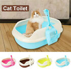 B9D5 Plastic Cat Litter Box Home Crack-Proof Cute Litter Box