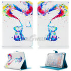 "For CHUWI Hi9 Plus 10.8"" Tablet Universal Folio Folding Print Leather Case Cover"