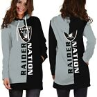 "Oakland Raiders ""Raider Nation"" Sport Hoodie Dress for Women Size Medium to 3XL $31.95 USD on eBay"