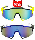 New Outdoor Sport Cycling Bicycle Riding Sunglasses Eyewear Wrap Around Goggles