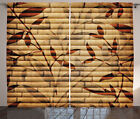Ambesonne Curtains 2 Panel Set Window Drapes for Room Decor with Rod Pocket
