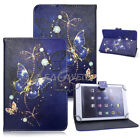 "For 9.7"" ~ 10.1"" Tab Android Tablet Universal Printed Leather Case Cover 2019"