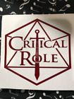 Critical Role decal