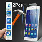 x2 Genuine Tempered Glass Screen Protector For Huawei / Honor / Mate