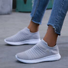 Women Breathable Trainers Sneakers Ladies Slip On Sport Running Shoes Size 3-6.5
