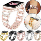 Fashion Metal Bracelet iWatch Band Women Apple Watch 38/42/44mm Series 5 4 3 2 1 image