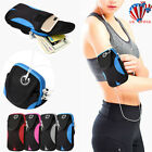 Running Arm Bag Case Cover Armband Sports Jogging Mobile Phone Holder Wallet US image