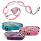 Unisex Stretch Out Exercise Fitness Yoga Strap Flexible Loops Pilates Workouts image
