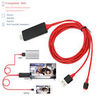 Lightning to HDMI Adapter Cable, Wesoo Lightning Digital AV to HDMI 1080P Cable