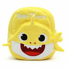 Baby Kid Shark Backpack Child Boy Girl Plush Cute Cartoon Animal School Bag Gift