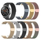 1×For Samsung Galaxy Watch Active 2 Milanese Magnetic Stainless Steel Band Strap image