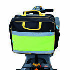 High Visibility Mobility Scooter Shopping Bag Set - Rear Bag + 2 Pannier Bags