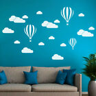 Diy Large Clouds Balloon Wall Decals Children's Room Home Decoration Art