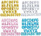 16 Alphabet Letter Number Foil Balloon NAME PARTY WEDDING Gold Silver Blue Pink