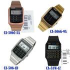 BUY Casio Data Bank  CA-506C-5A CA-53W-1Z CA-506G-9A CA-506-1D Calculator Watch image