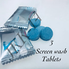 SCREEN WASH TABLETS 🚘 CAR WINDSCREEN WASHER FLUID TABLETS 💎✅ EASY TO USE 💦