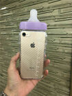 3D Phones Cases for iPhone 6 7 8 Plus 5S SE Baby Milk Bottle Soft Clear Cover