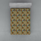 Ethnic Art Fitted Sheet Cover with All-Round Elastic Pocket in 4 Sizes image