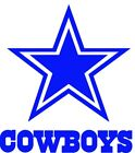 Dallas Cowboys Decal Sticker Football for YETI Tumbler Rambler Cup Car Window V1 $3.0 USD on eBay