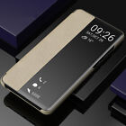 For Huawei P10/20 Mate 30 Pro Smart Sleep & Wake-up Window Flip Stand Case Cover
