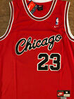 NWT Michael Jordan 1984 ROOKIE Chicago Bulls 23 RED Classic Vintage Men's Jersey