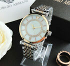 Women's Dress Stainless steel Wristwatches shell Round Fashion Crystal Watch image
