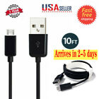 3M/10ft Micro USB Data Sync Charging Cable for Android Samsung Samrt Cell Phone
