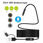 E274 Endoscope for Andriod Phone Micro USB TYPE-C HD Camera
