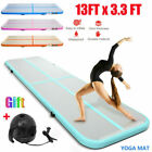 13FT Airtrack Inflatable Air Track Floor Home Gymnastics Tumbling Mat GYM  CF image