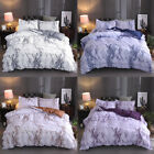 Marble Comforter Cover Pillowcase Bedding 3Pcs Set Quilt Cover Queen King Size image