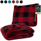 Travel Pillow for Airplane Car Neck Cushion and Convertible Travel Throw Blanket