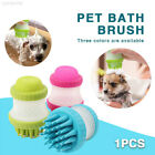 72BE 2 in 1 Dog Brush Bubble Pet Cleaning Durable Pet Shampoo Brush